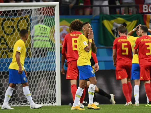 FIFA World Cup 2018: Belgium Beat Brazil 2-1, To Play France In Semi-Final