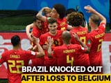 Video: FIFA World Cup 2018: France Ease Past Uruguay, Belgium Stun Brazil