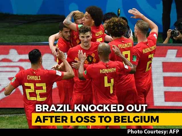 FIFA World Cup 2018: France Ease Past Uruguay, Belgium Stun Brazil