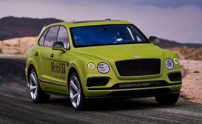 The Bentayga will be driven at the Colorado event by 2-time Pikes Peak champion, Rhys Millen
