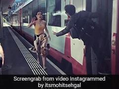 एक्टर ने ट्रेन में किया 'दिलवाले दुल्हनिया ले जाएंगे' का सीन, देखकर भाग खड़ी हुई हीरोइन...