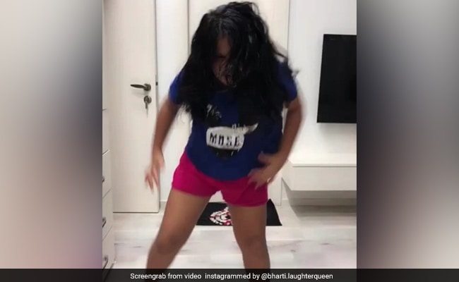 Video: कॉमेडियन भारती की भांजी ने 'खलीबली' पर किया जंगली डांस, कहा- मेरा मोटा खिलजी