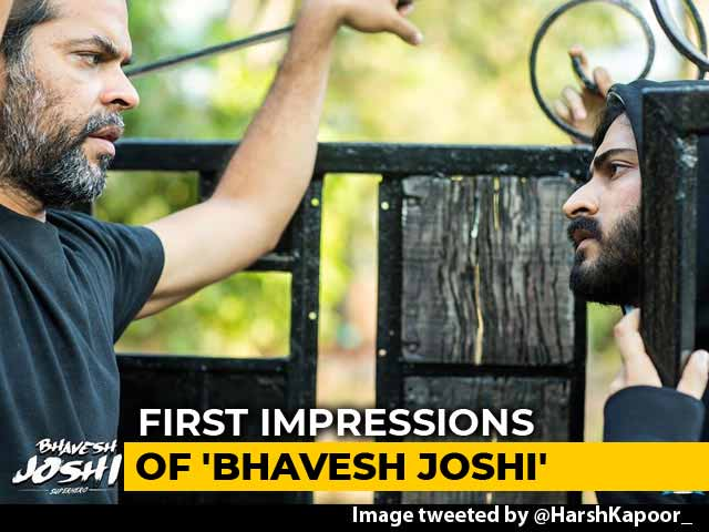 Video : First Impressions Of Harshvardhan Kapoor's <i>Bhavesh Joshi</i>