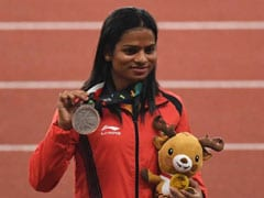 Asian Games 2018: Dutee Chand Clinches Silver In Women's 200M