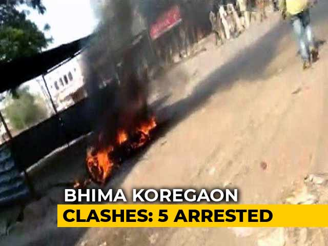 Video : In Bhima Koregaon Case, Police Arrest 5 Activists After Multi-City Ops