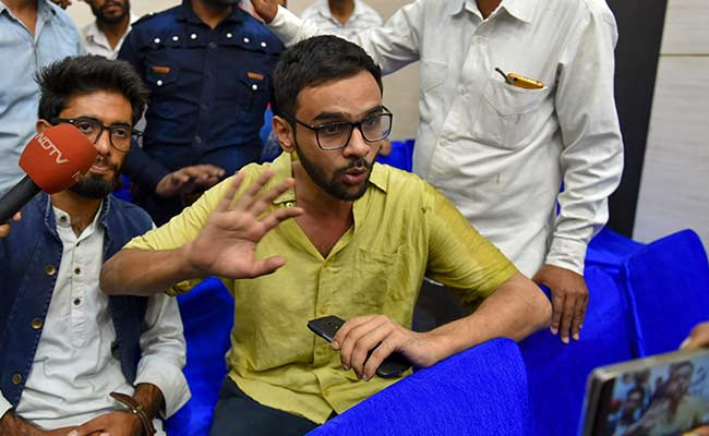 Police Questions Umar Khalid In Connection With Northeast Delhi Violence