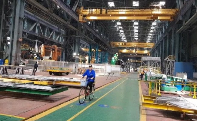 bicycles on shop floor
