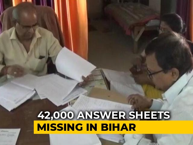 Video : Thousand Of Bihar Matric Answer Sheets Missing, Results Postponed