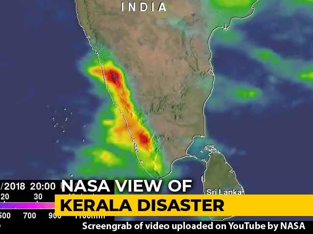 Video : NASA Satellite Video Of Heavy Rain That Devastated Kerala