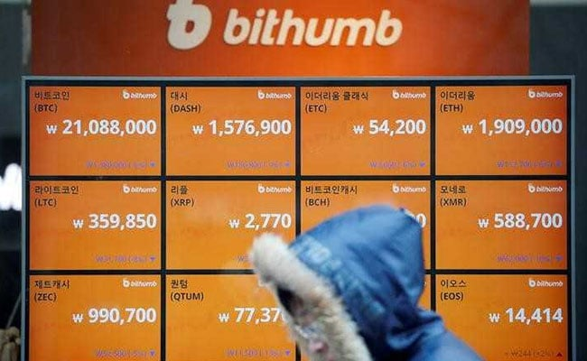 South Korea Cryptocurrency Exchange Says $32 Million In Coins Stolen
