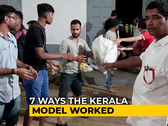 Video : Kerala Floods: Seven Lessons In Tackling A Crisis