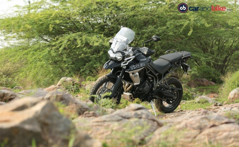 The 2018 Triumph Tiger 800 is priced at Rs. 13.76 lakh (ex-showroom, Delhi)