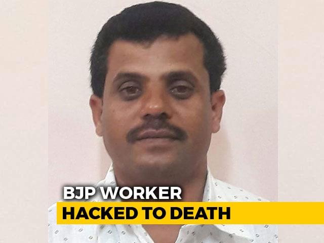 Video : BJP Worker Hacked To Death By Men On Motorbike In Karnataka's Chikmagalur