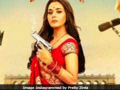 <i>Bhaiaji Superhit</i> New Poster: Preity Zinta Is 'Back With A Bang'
