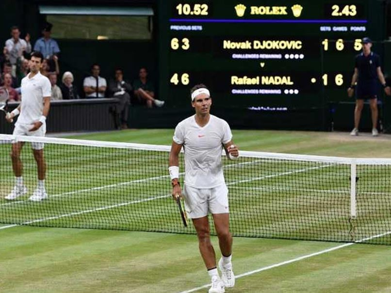 Novak Djokovic Leads Rafael Nadal As Wimbledon Semi-Final Halted For Night