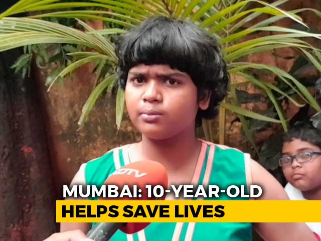 Video : Mumbai 10-Year-Old Put School Drill To Use As Fire Spread
