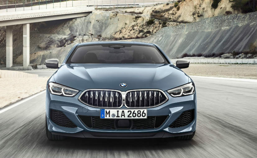 The US-spec 2019 BMW M850i xDrive Coupe is powered by a 4.4-liter biturbo V8