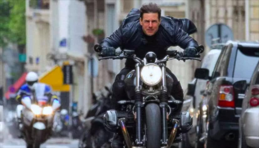 Mission Impossible Fallout Movie Features The Bmw R Ninet