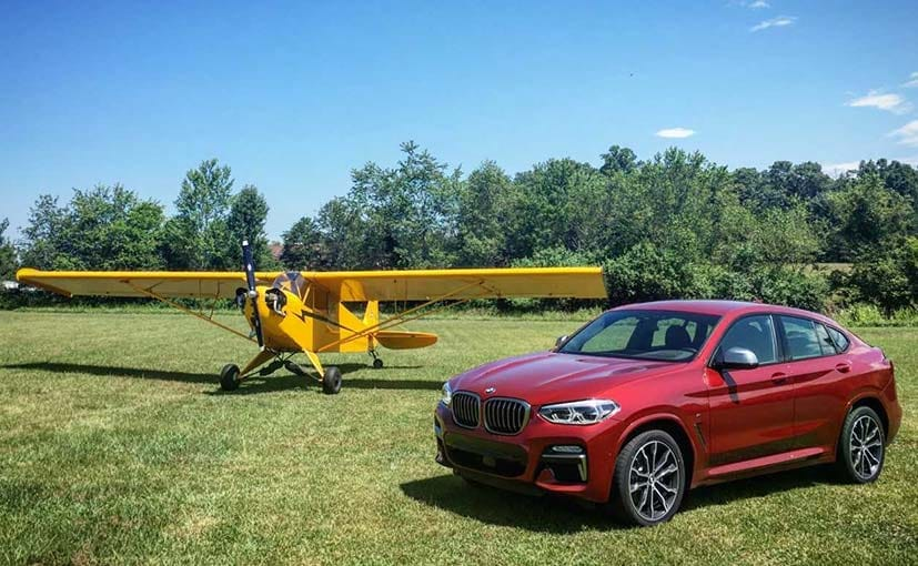 The BMW X4 will be launched in India early next year