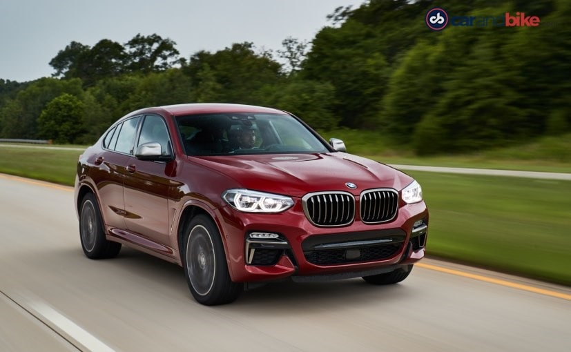 The new launch date of the BMW X4 has not been revealed yet