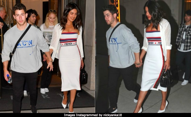 Priyanka Chopra Picks Perfect White Outfit To Watch US Open With Nick Jonas