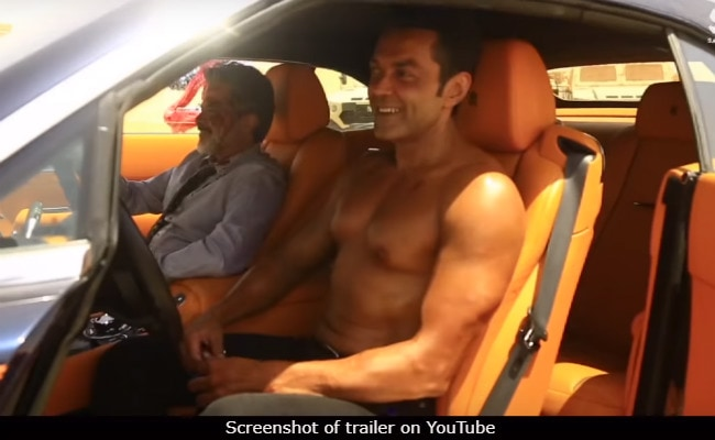 Race 3: How Shirtless Bobby Deol Shot In The Scorching Desert Heat