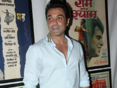 <I>Race 3</i> Actor Bobby Deol Says He's 'Here Because People Love Him'