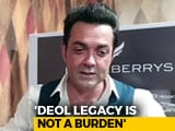 Video: 'I Lacked Focus,' Says Bobby Deol