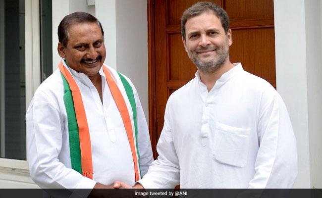 आंध्र प्रदेश में कांग्रेस को फायदा, पूर्व मुख्यमंत्री एन. किरण कुमार रेड्डी फिर हुये पार्टी में शामिल