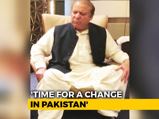 Video : 'Defining Moment For Pakistan' Says Nawaz Sharif, Tracked By NDTV In UAE
