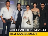 Video : Rekha, Varun, Bobby & Kriti At IIFA Press Meet