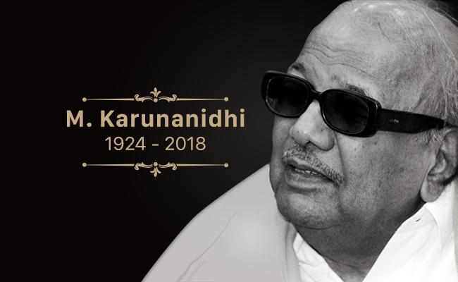 Image result for karunanidhi dies