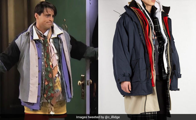 Twitter's Making The Same F.R.I.E.N.D.S. Joke About This Balenciaga Coat