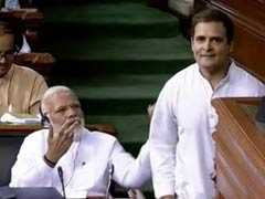 """You May Call Me Pappu, I Don't Hate You"": Rahul Gandhi Hug Startles PM"