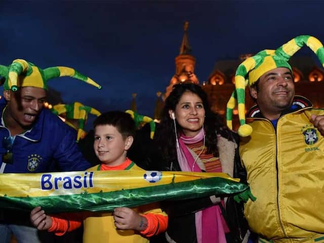 FIFA World Cup: Brazil Fans Not Keen To Splurge On Celebrating World Cup In Russia