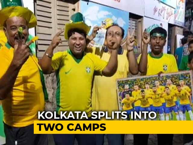 Kolkata Football Fans Divided Into Pro-Brazil, Anti-Brazil Camps