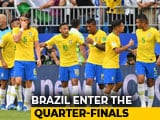 Video : FIFA World Cup 2018: Brazil Beat Mexico To Enter Quarter-Finals