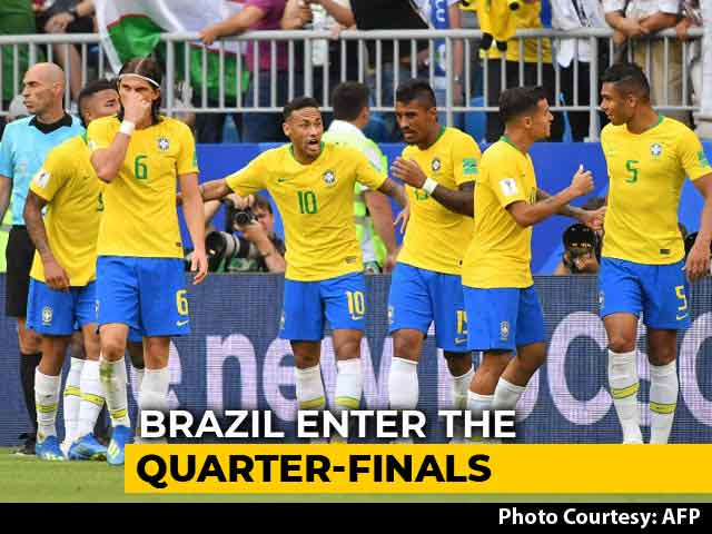 FIFA World Cup 2018: Brazil Beat Mexico To Enter Quarter-Finals