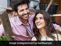 Kriti Sanon And Kartik Aaryan Post A Pic From Day 1 On <I>Luka Chuppi</I> Set