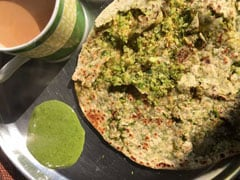 Iron-Rich Diet: Make This Palak (Spinach) Paratha for A Nutritional Meal