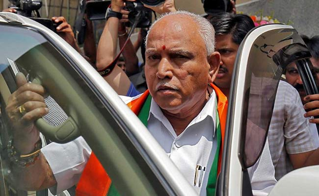 'We Work As Opposition': BS Yeddyurappa's Response On BJP Leader's Remark