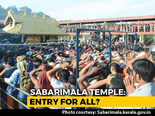 Video : Supreme Court Supports Entry Of Women In Sabarimala Temple