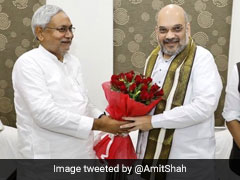 Post Dinner, One-On-One Nitish Kumar-Amit Shah Meet Hints Reconciliation