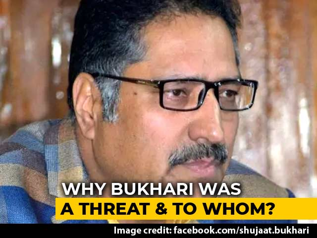 Video : Colleagues Mourn Journalist Shujaat Bukhari, Shot Dead By Terrorists