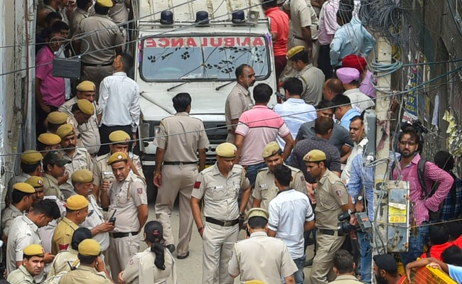 burari murder delhi pti