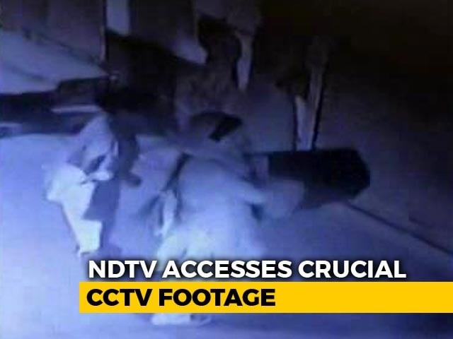Video : In Delhi's House Of Horrors, CCTV Shows Daughter-In-Law Brought Stools