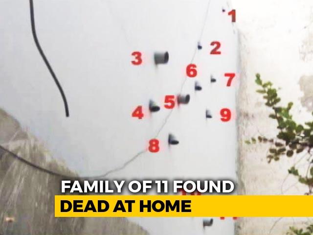 Video: In Delhi Family Deaths, Investigators Uncover Macabre Details