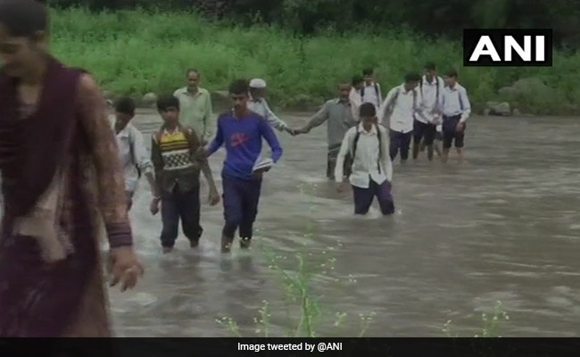 For Students Who Cross River On Foot To Reach School, A Bridge Too Far