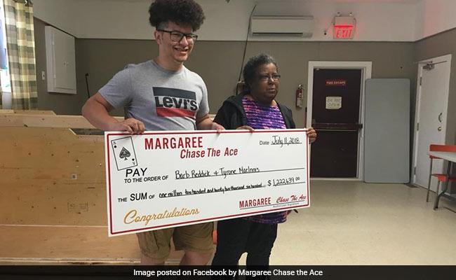 She Planned To Split Lottery Winnings -- Until She Won