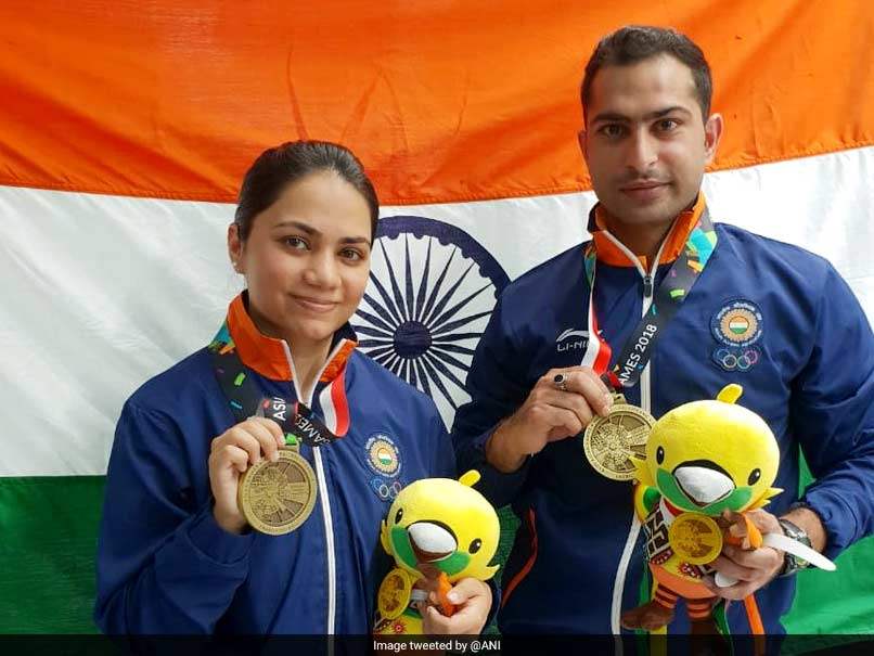 Asian Games 2018: Apurvi Chandela-Ravi Kumar Get India Off The Mark With Bronze In 10m Air Rifle Mixed Team Event